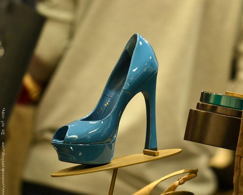 16389da1ccd Yves Saint Laurent YSL Designer Shoes for Women Azur Palais Pump Resort  2012 Collection Nordstrom Fashion