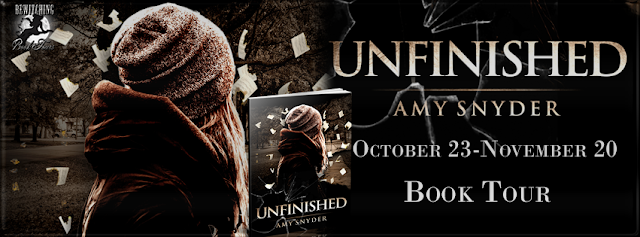 Interview & Giveaway with Amy Snyder, author of Unfinished