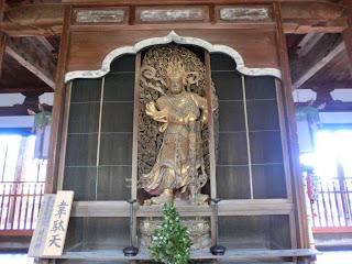 京都:萬福寺韋駄天