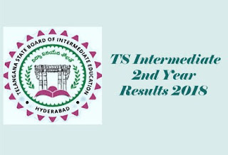 TS Inter 2nd Year 2018 Results | TS Intermediate 2018 Results | TS Senior Inter 2018 Results