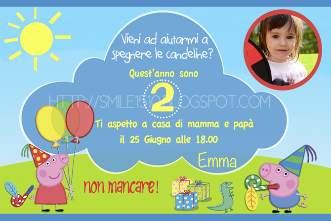 Famoso Ballando con Sofia: Un regalo per voi - Peppa Pig Cupcake toppers  CV11