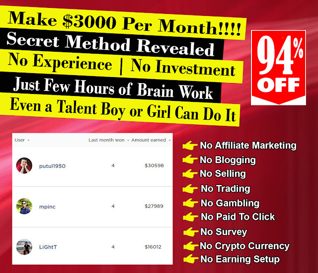 Most Easiest Make Money Online From Home