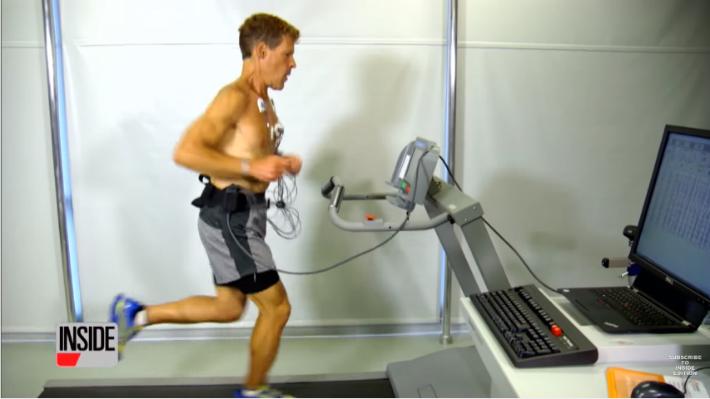 Dean Karzanes, maratonista, 53 anos