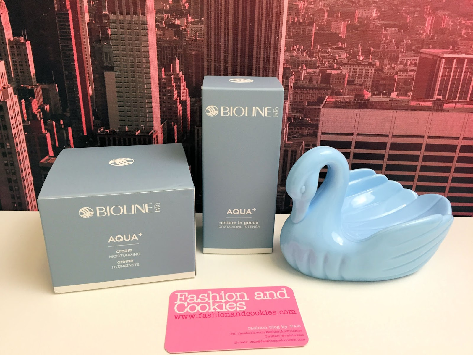 Bioline Jatò Aqua+ cream and nectar in drops to hydrate the skin with hyaluronic acid on Fashion and Cookies beauty blog, beauty blogger