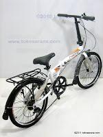 4 Sepeda Lipat ELEMENT COBRA ALLOY 20 Inci