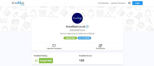 Cek Nomor Rekening dengan Kredibel.co.id