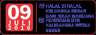 Halal Bi Halal Bani Yoesaid