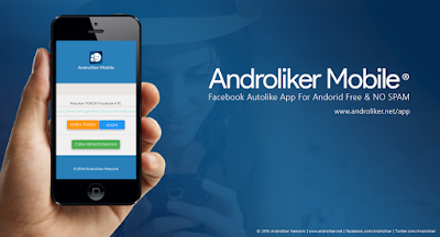 Androliker Mobile | Facebook Autolikes App for Android