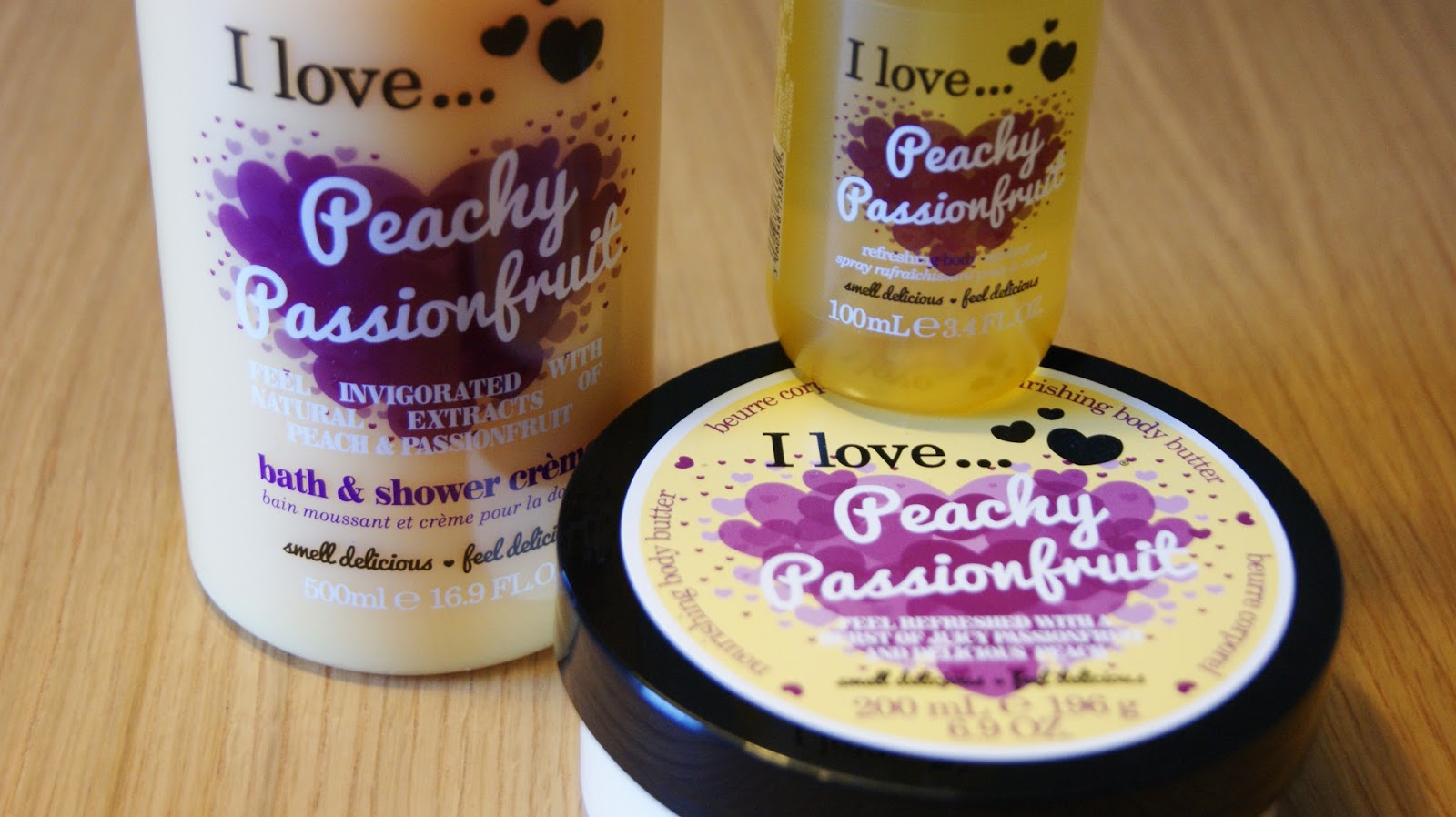 I Love Peachy Passionfruit Collection Review