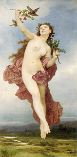 Hemera, pictura de William Adolphe Bouguereau