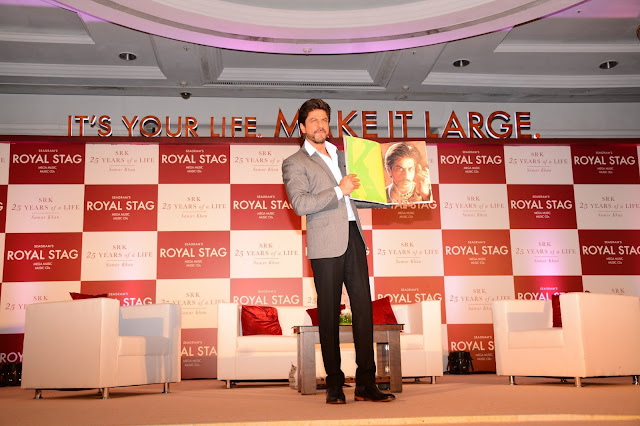 Royal Stag Mega Music presents SRK's biography by Samar Khan