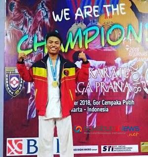 Ahmad Ramdan Nasution, Peraih medali emas pada Kejuaraan Nasional (kejurnas) Kandaga Prana