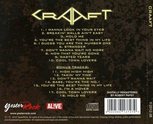 CRAAFT - Craaft [YesterRock remastered +8] back