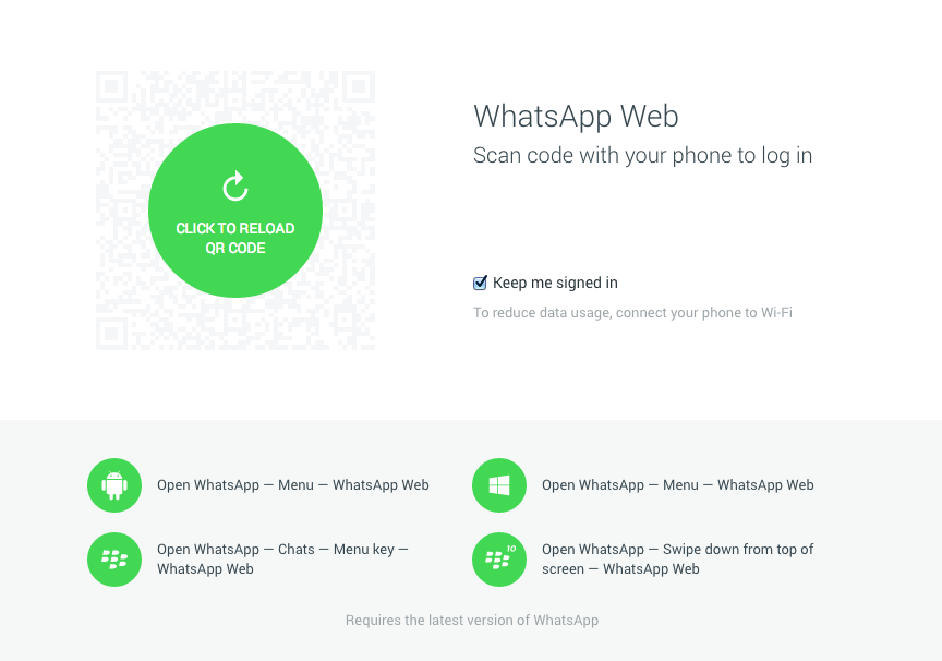 whatsapp-web-client