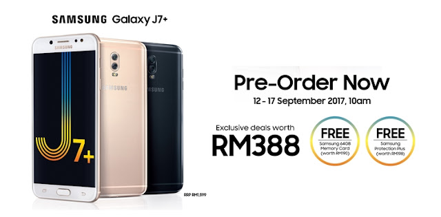 Samsung Galaxy J7+ processor