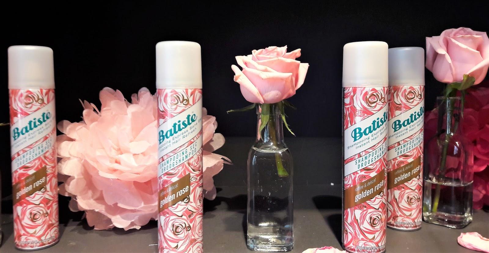 Beauté le nouveau Shampooing sec Batiste Golden Rose   DAME ... 921401e9d768