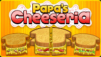 Here is #Papalouies Cheeseria! #PlashGames #TimeManagementGames