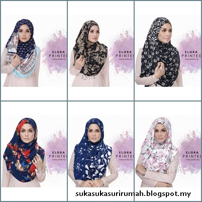Review instant shawl Elora Printed dari Avilia.My
