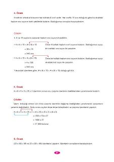 6. Sınıf Matematik Berkay Yayınları Sayfa 21