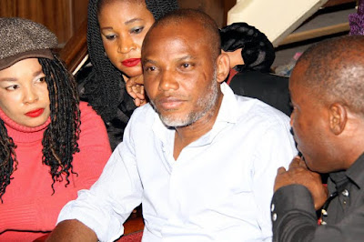 IPOB alleges plot by DSS and FG to kill Nnamdi Kanu on his next court hearing