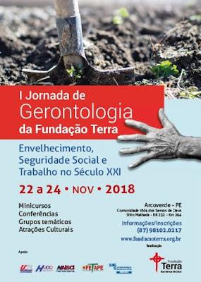 Envelhecimento humano: Jornada de Gerontologia da Fundação Terra será em novembro