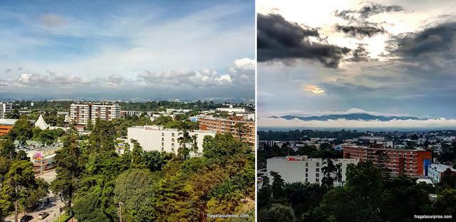 Zona Viva da Cidade de Guatemala