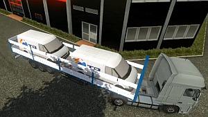 Ford Transit trailer