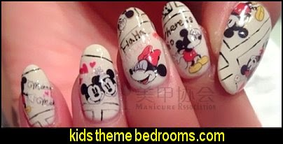 mickey mouse nail art sticker decal