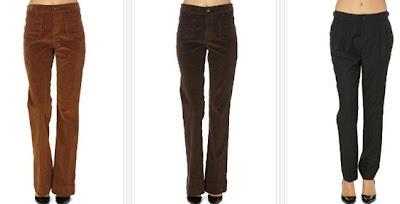 Pantalones de pana o de lana