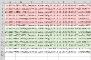 Convert file csv di word
