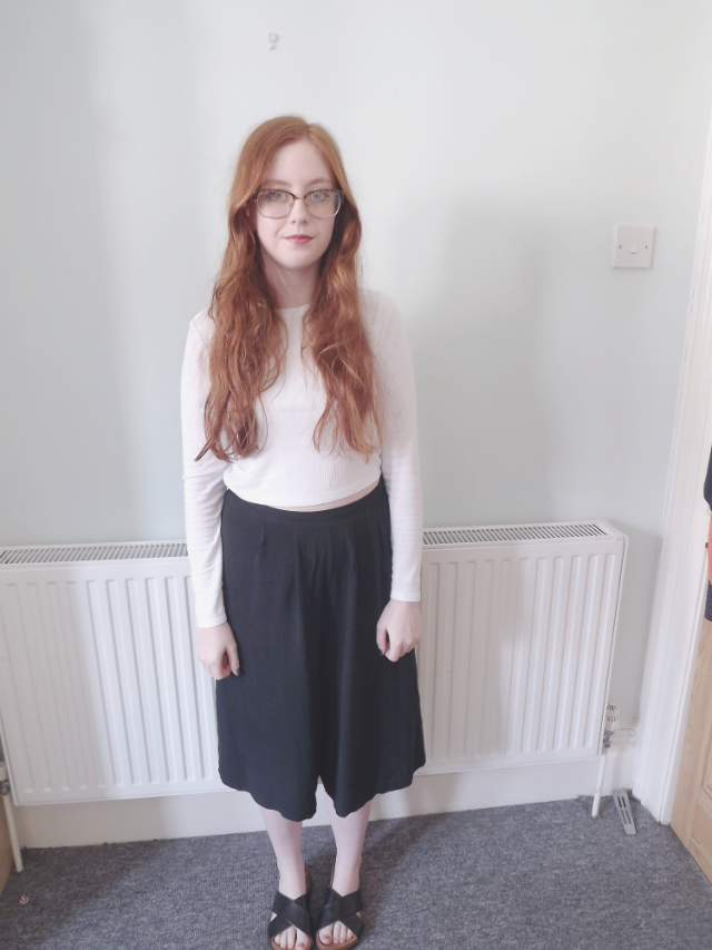 how to wear culottes, primark, H&M, topshop,