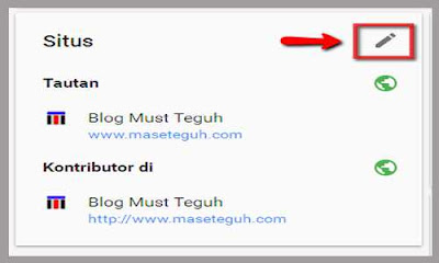 edit situs profil google plus