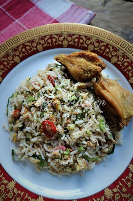 Nasi Ulam Nyonya aka Nyonya Herbs Rice