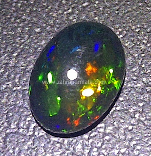 Batu Permata Black Opal Kalimaya - ZP 452
