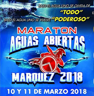 maratón de aguas abiertas márquez 2018