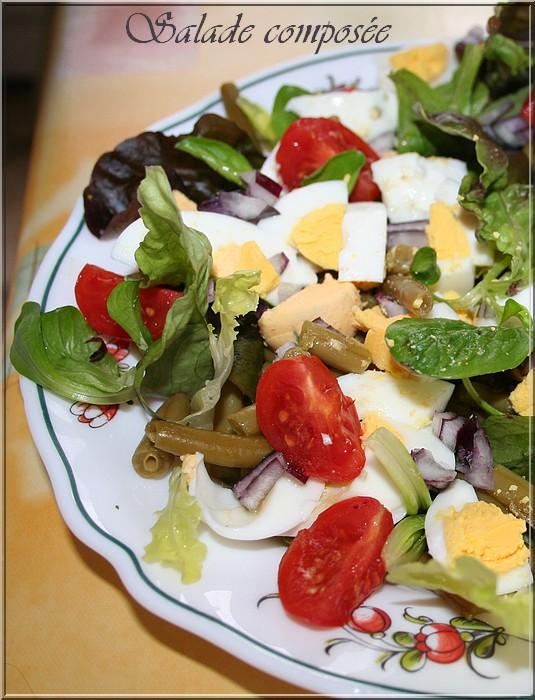 la table lorraine d 39 amelie salade compos e du jeudi oeufs durs haricots verts salades. Black Bedroom Furniture Sets. Home Design Ideas