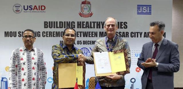 Tingkatkan Layanan Kesehatan, Danny Pomanto Teken MoU dengan MISI IOM Indonesia
