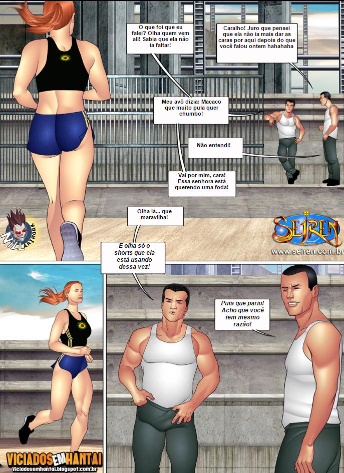 Hentai seiren - A esportista 2