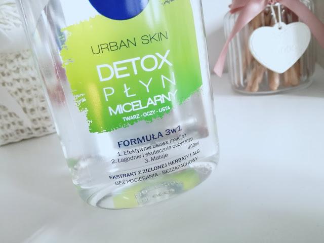 płyn micelarny nivea urban skin detox