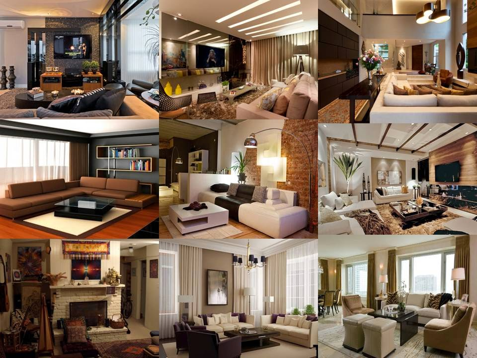 Modern Brown and Beige Living Room Designs - Dwell Of Decor