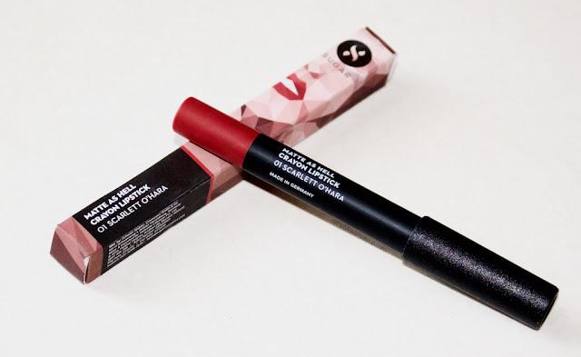 Sugar Cosmetics Matte As Hell Crayon Lipstick - Scralett O'Hara