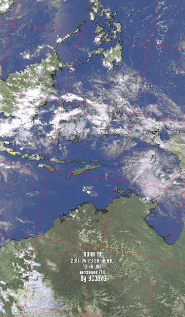 NOAA-19 over Indonesia OI71dq