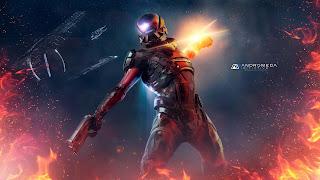 Mass Effect Andromeda PS4 Wallpaper