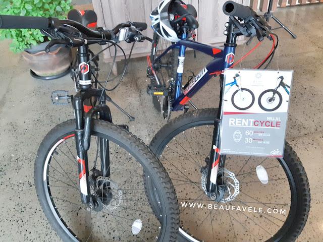 Sewa sepeda untuk olahraga