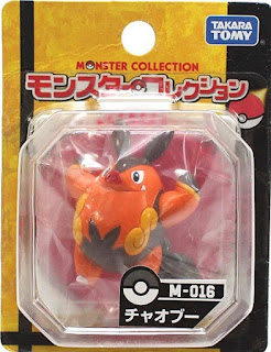 Pignite figure Takara Tomy Monster Collection M series