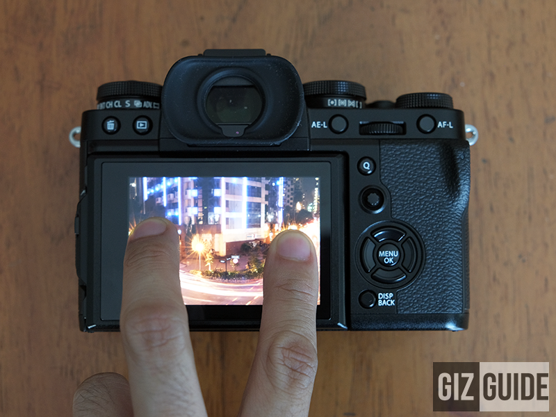 Touch functionality comes to the X-T3!