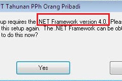 Software Pendukung Yang Wajib Ada Sebelum Install Aplikasi eSPT