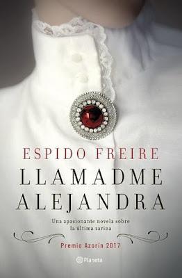 Espido Freire-reseña Llamadme Alejandra-Marian Ruiz