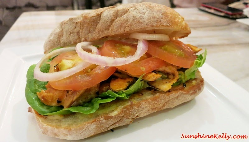 Spicy Chicken Sandwich, Baci Italian Cafe, Citta Mall, Italian Cafe, Coffee, Cafe Food, Italian Food