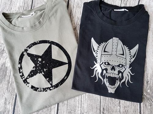 T-Shirts pimpen für Männer